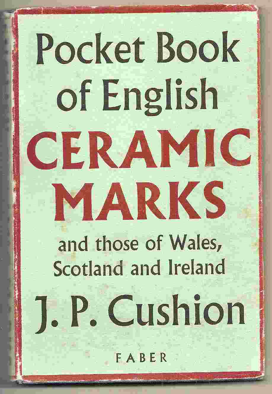 Image for POCKET BOOK OF ENGLISH CERAMIC MARKS AND THOSE OF WALES, SCOTLAND & IRELAND