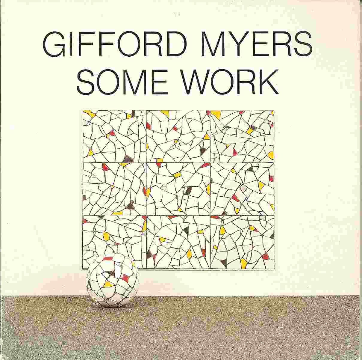 Image for GIFFORD MYERS:  SOME WORK