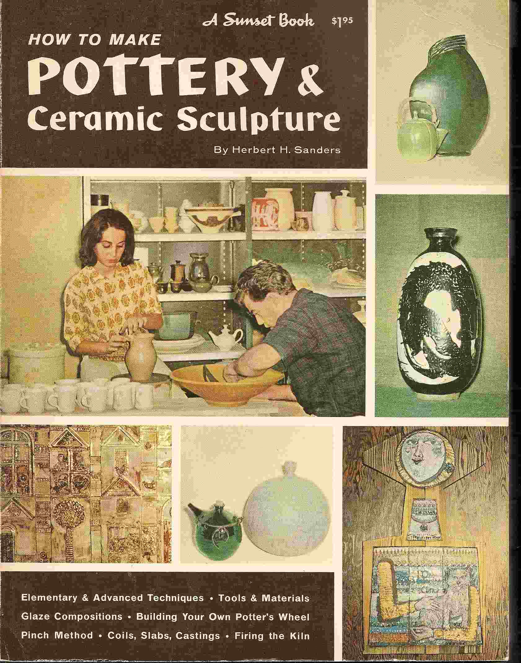 Image for HOW TO MAKE POTTERY & CERAMIC SCULPTURE