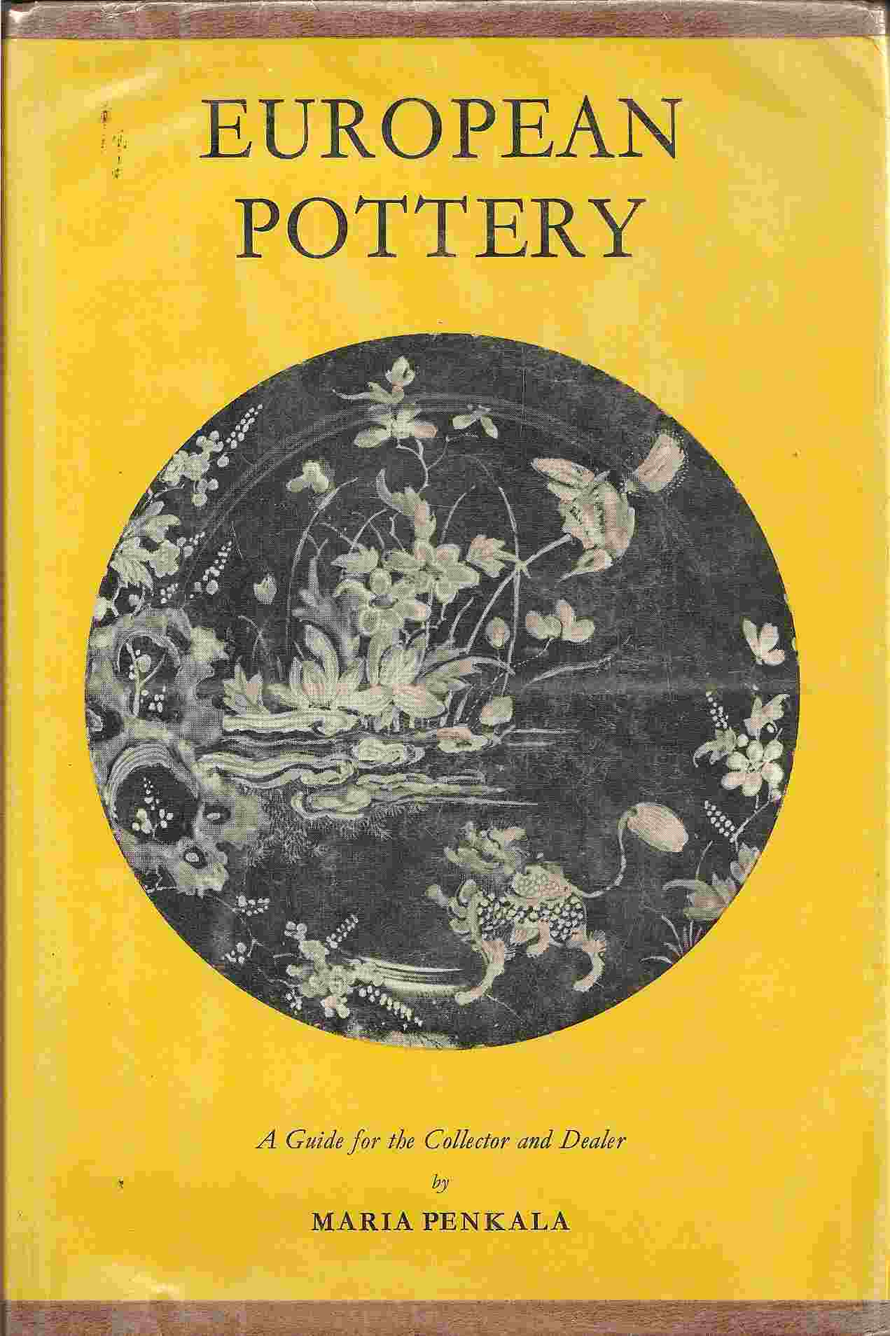 Image for EUROPEAN POTTERY:  A Guide for the Collector & Dealer
