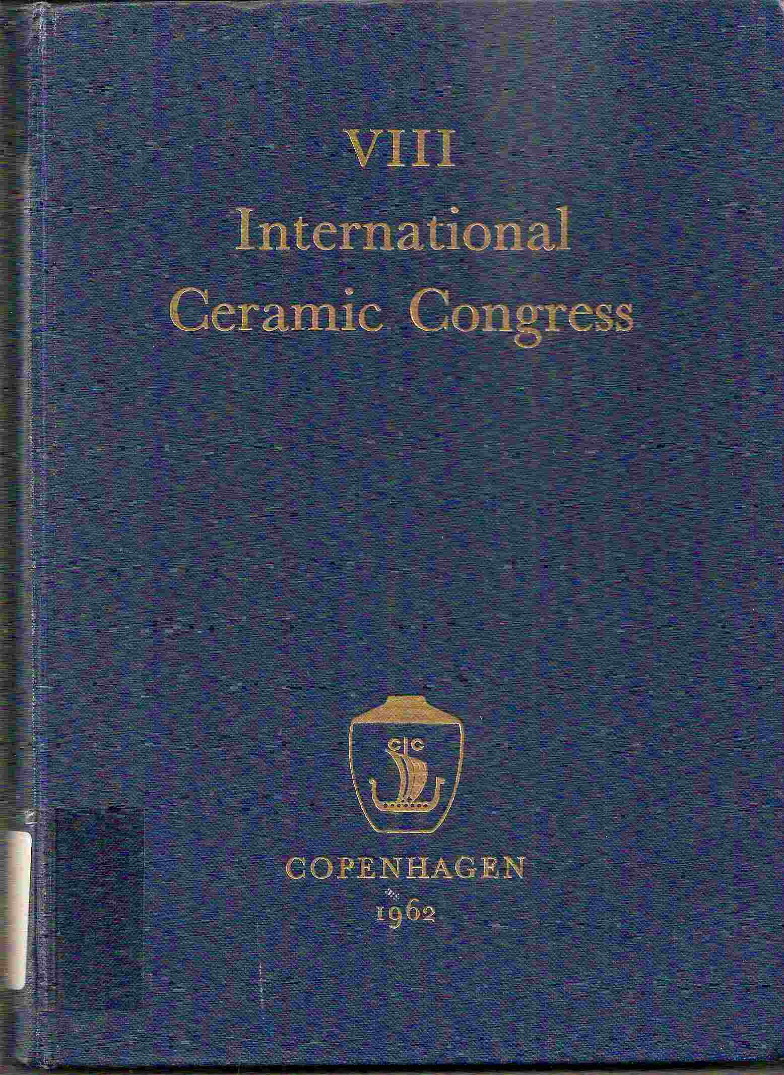 Image for TRANSACTIONS OF THE VIII INTERNATIONAL  CERAMIC CONGRESS