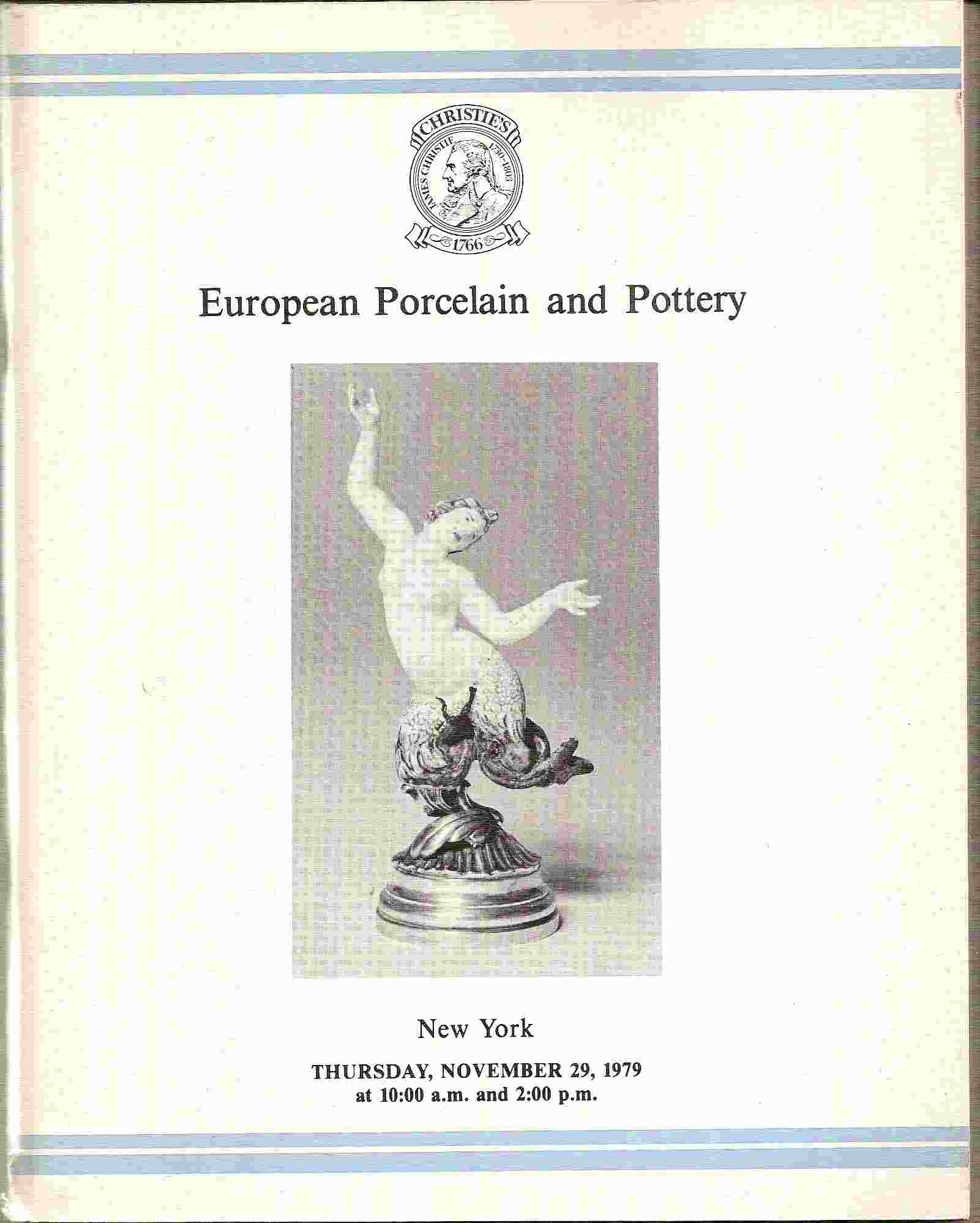 Image for EUROPEAN PORCELAIN & POTTERY