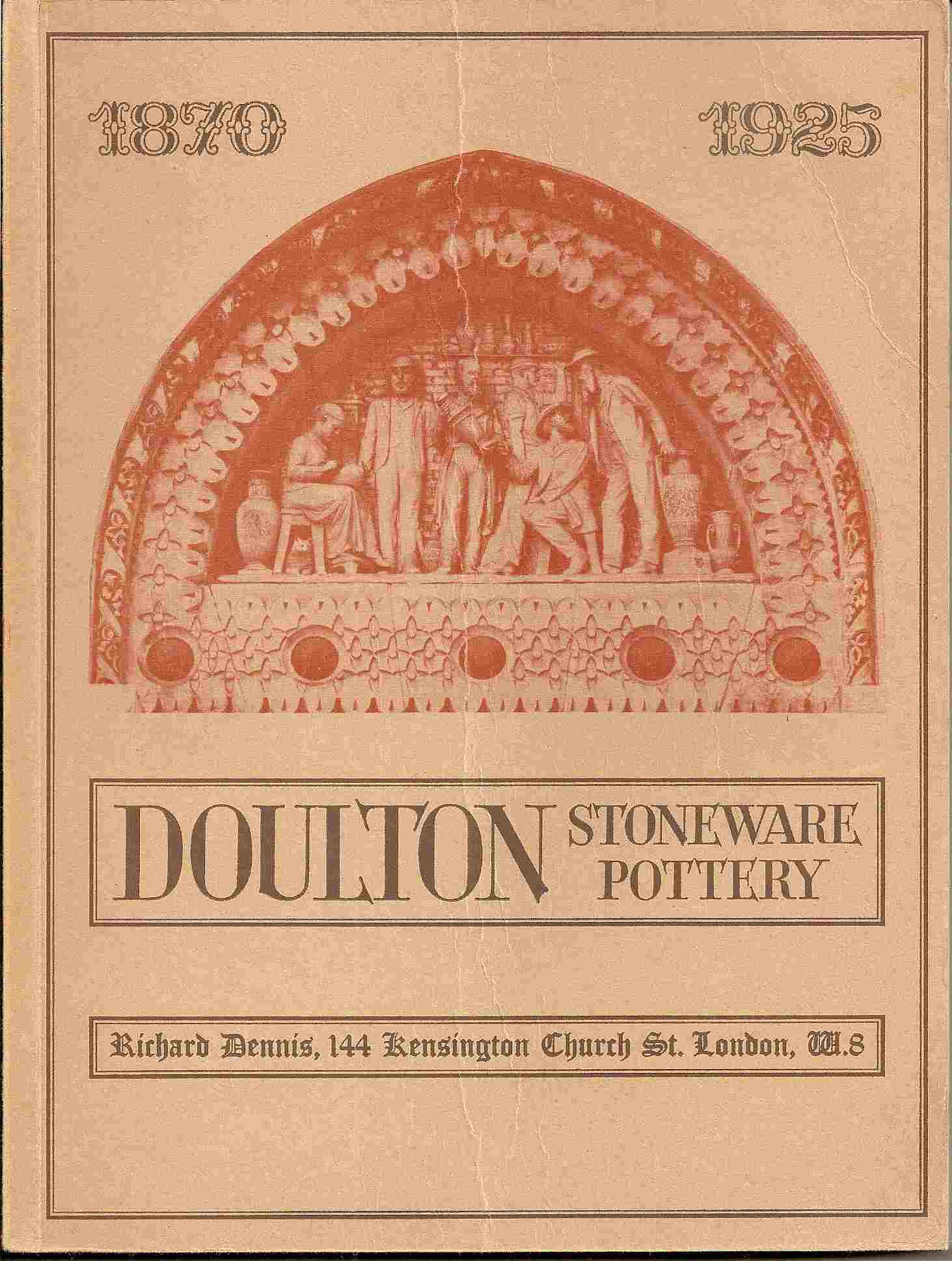 Image for DOULTON STONEWARE & TERRACOTTA 1870 - 1925 (Catalogue of an Exhibition - Part 1)