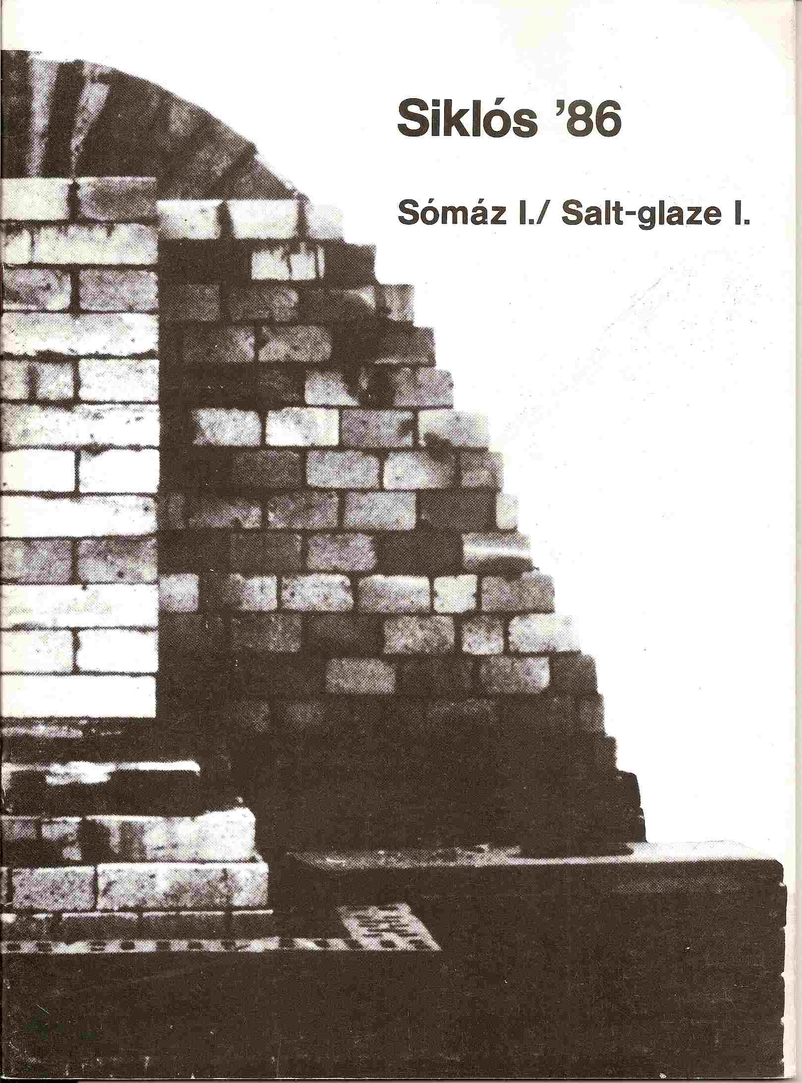 Image for SALT-GLAZE I -  1986; SOMAZ: