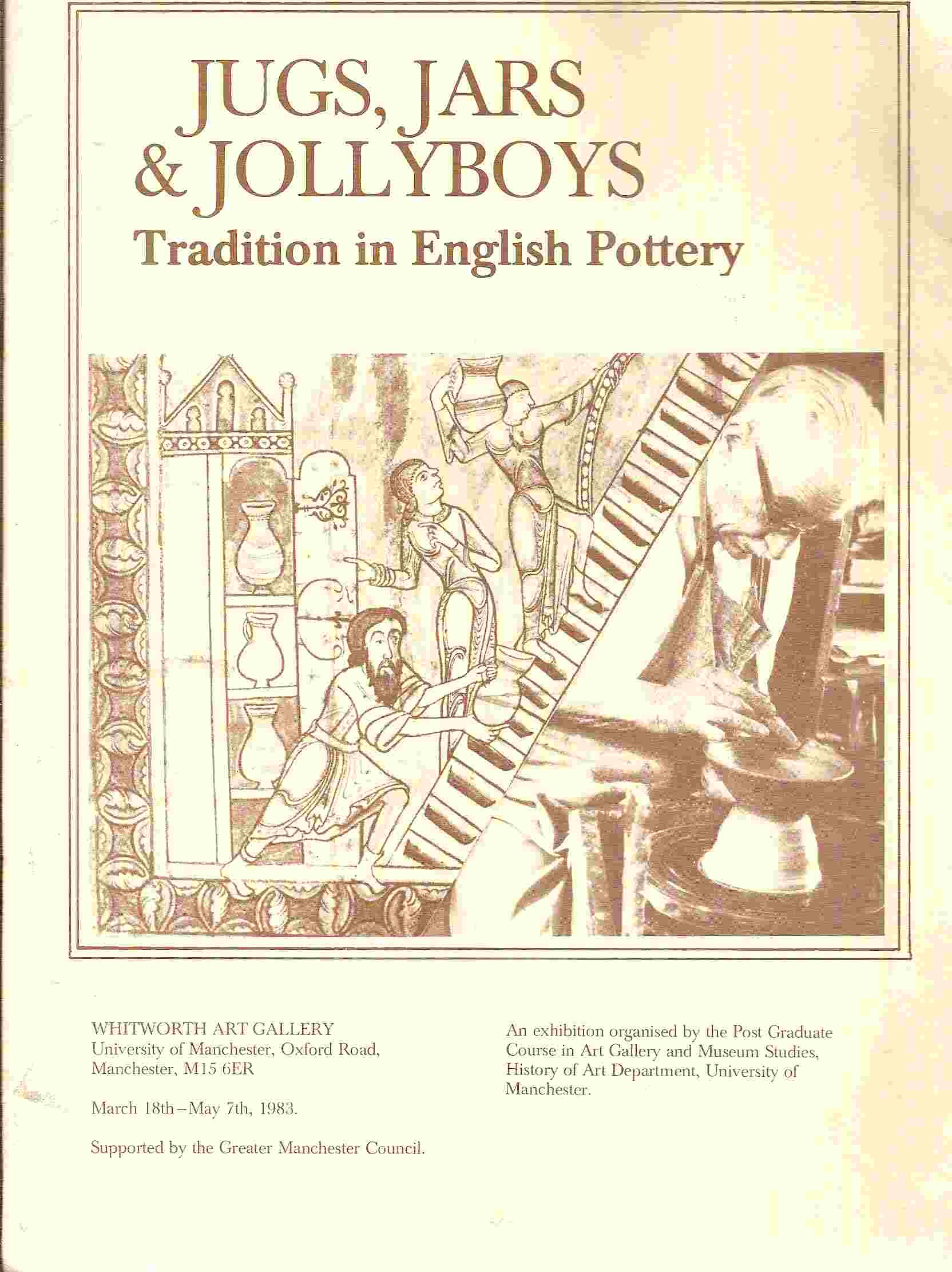 Image for Tradition in English Pottery; JUGS, JARS & JOLLYBOYS: