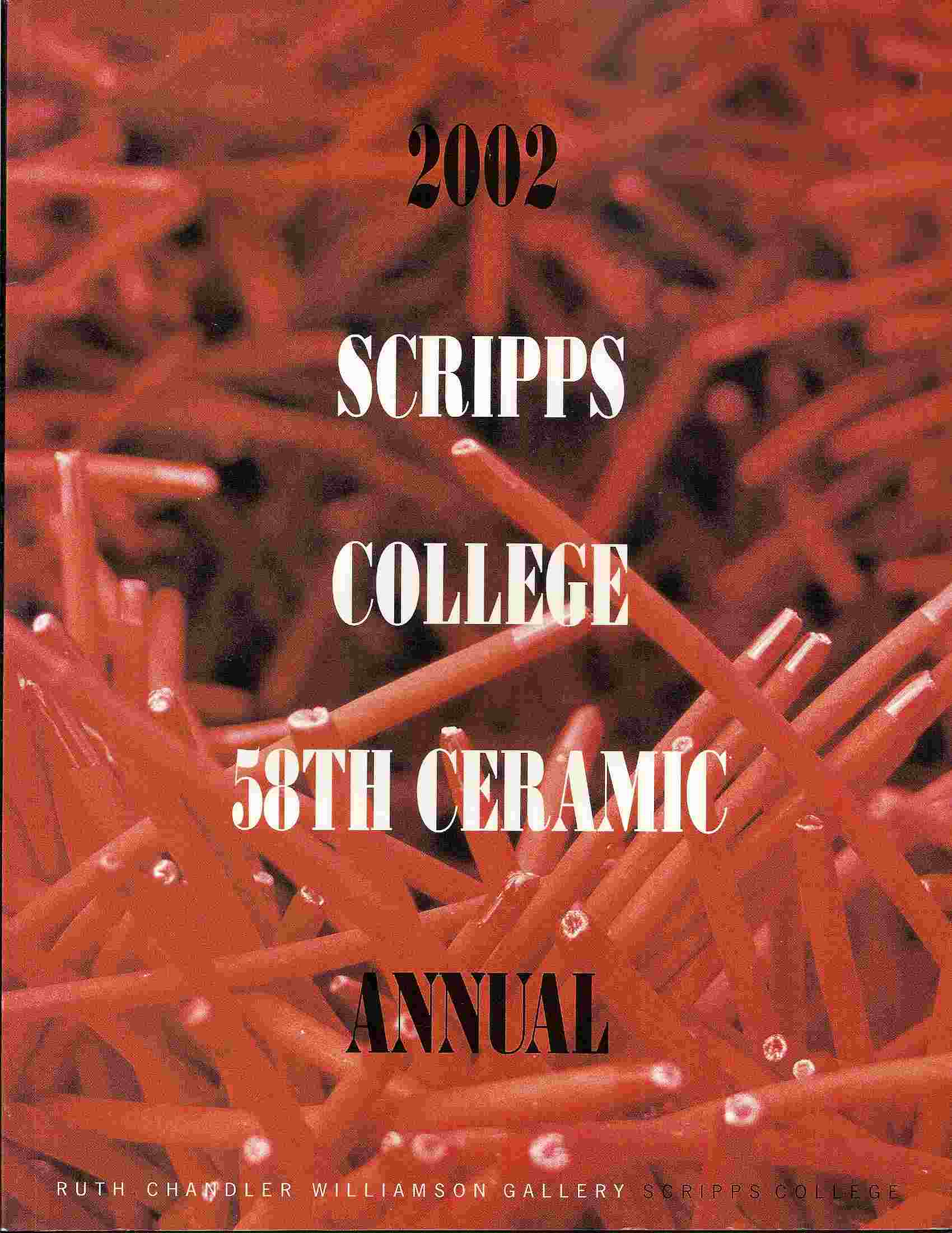 Image for 58th Annual Invitational Ceramic Exhibition; 2002 CERAMIC ANNUAL