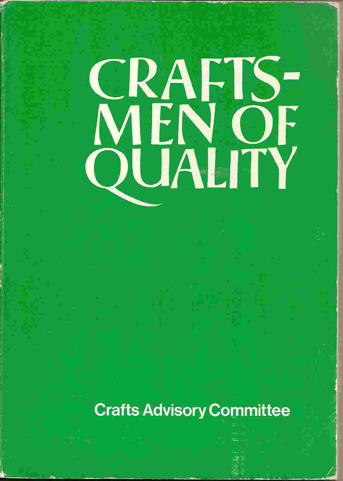 Image for CRAFTSMEN OF QUALITY