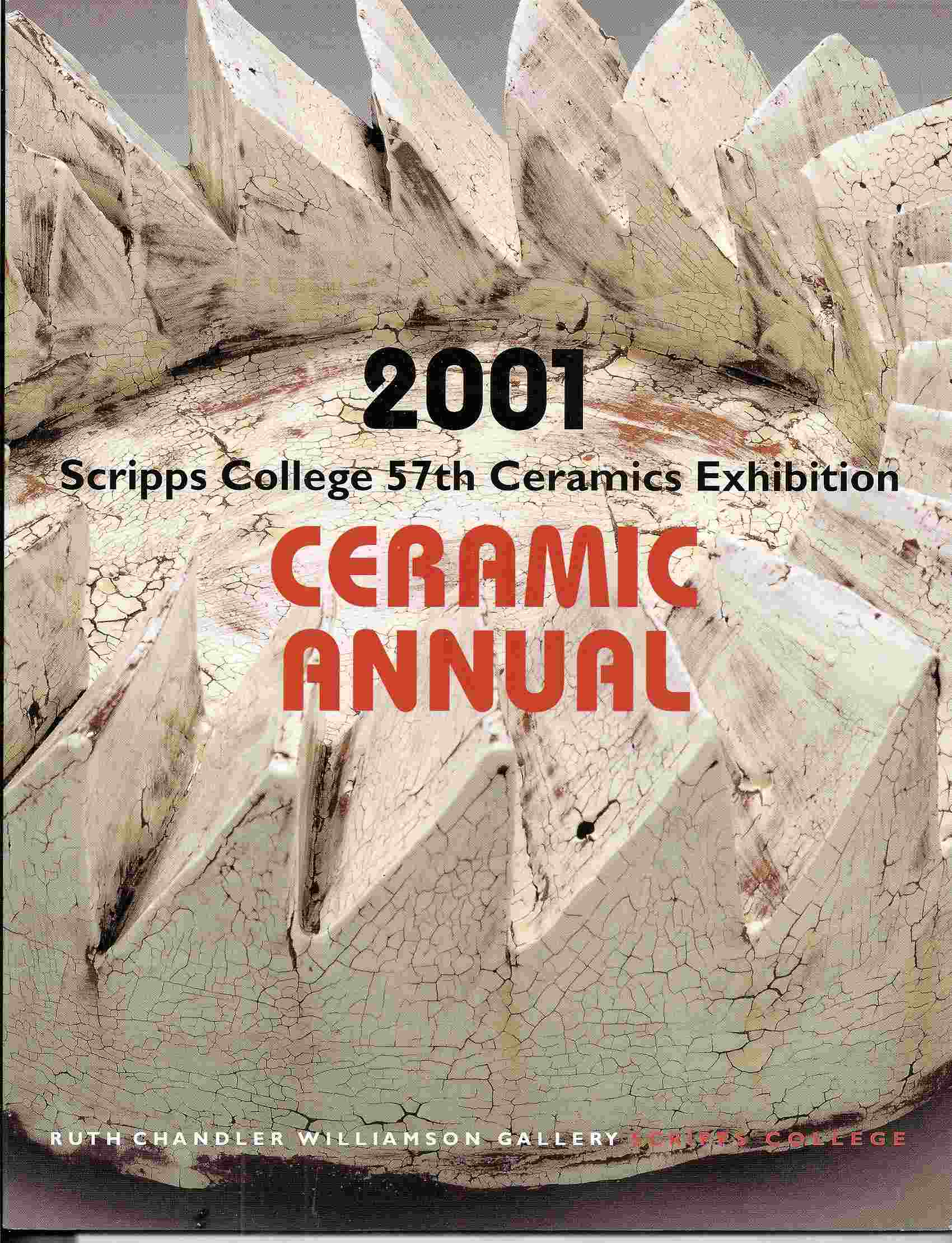Image for 57th Annual Invitational Ceramics Exhibition; 2001 CERAMIC ANNUAL