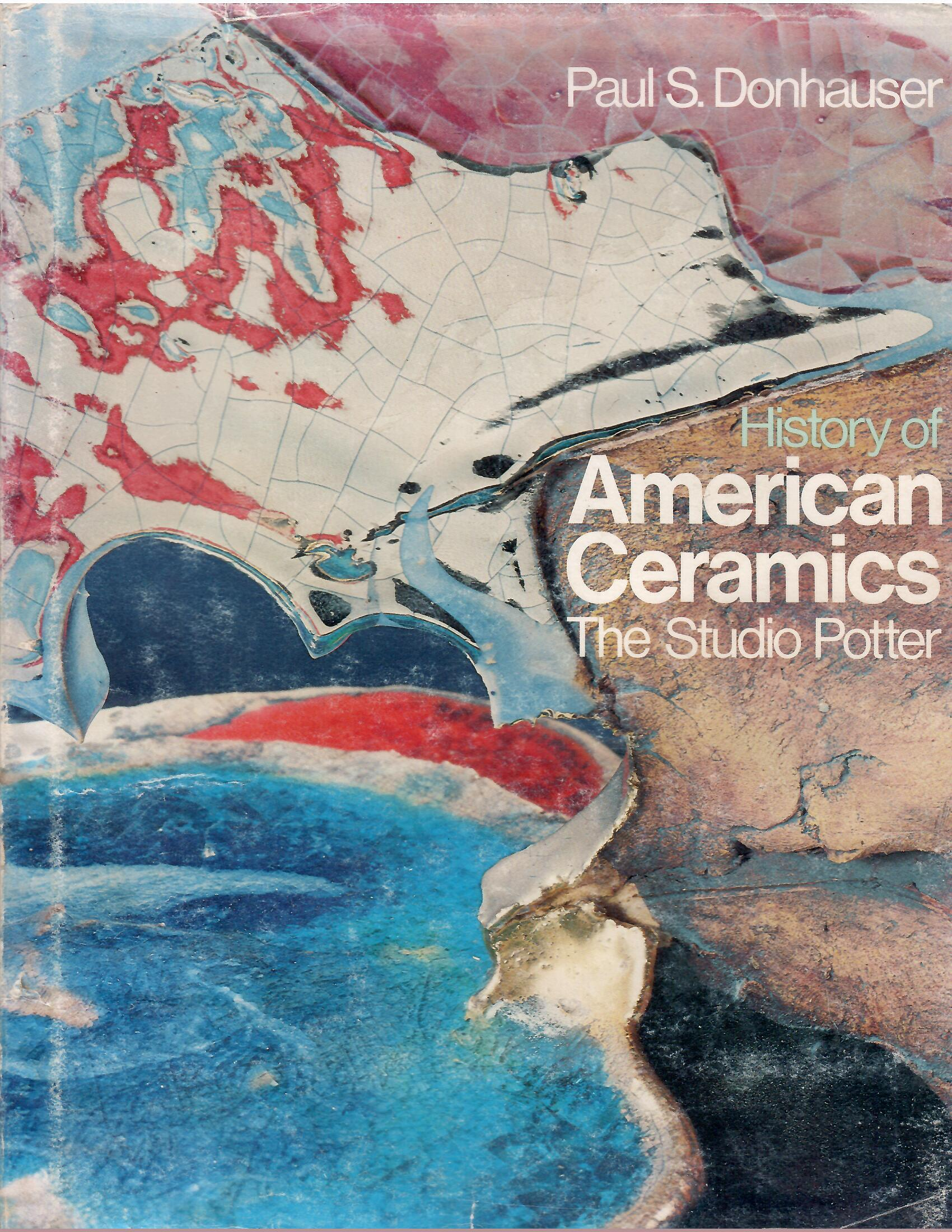 Image for The Studio Potter; HISTORY OF AMERICAN CERAMICS