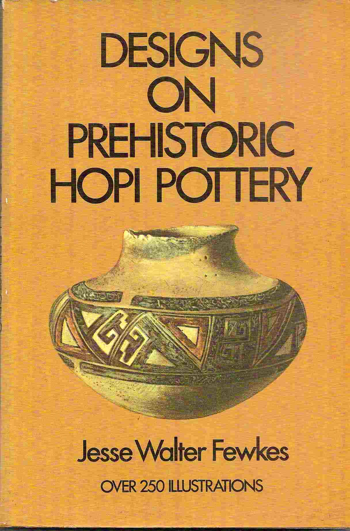 Image for DESIGNS ON PREHISTORIC HOPI POTTERY