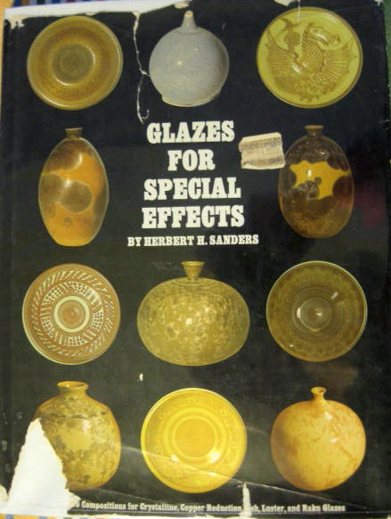 Image for 130 Compositions for Crystalline, Copper Reduction, Ash, Luster, and Raku Glazes; GLAZES FOR SPECIAL EFFECTS