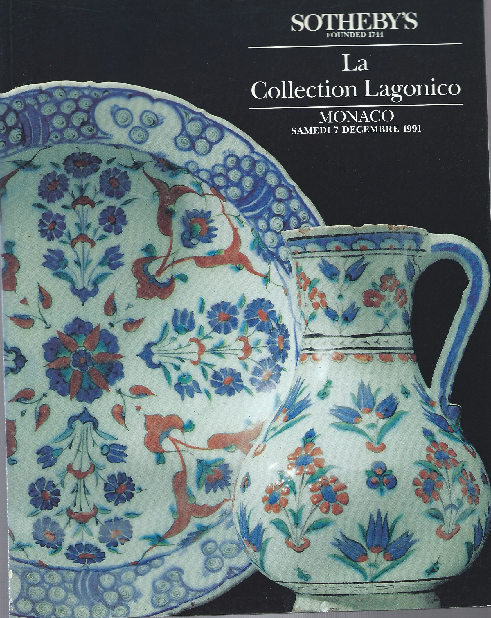 Image for Importantes Ceramiques D'Iznik; LA COLLECTION LAGONICO