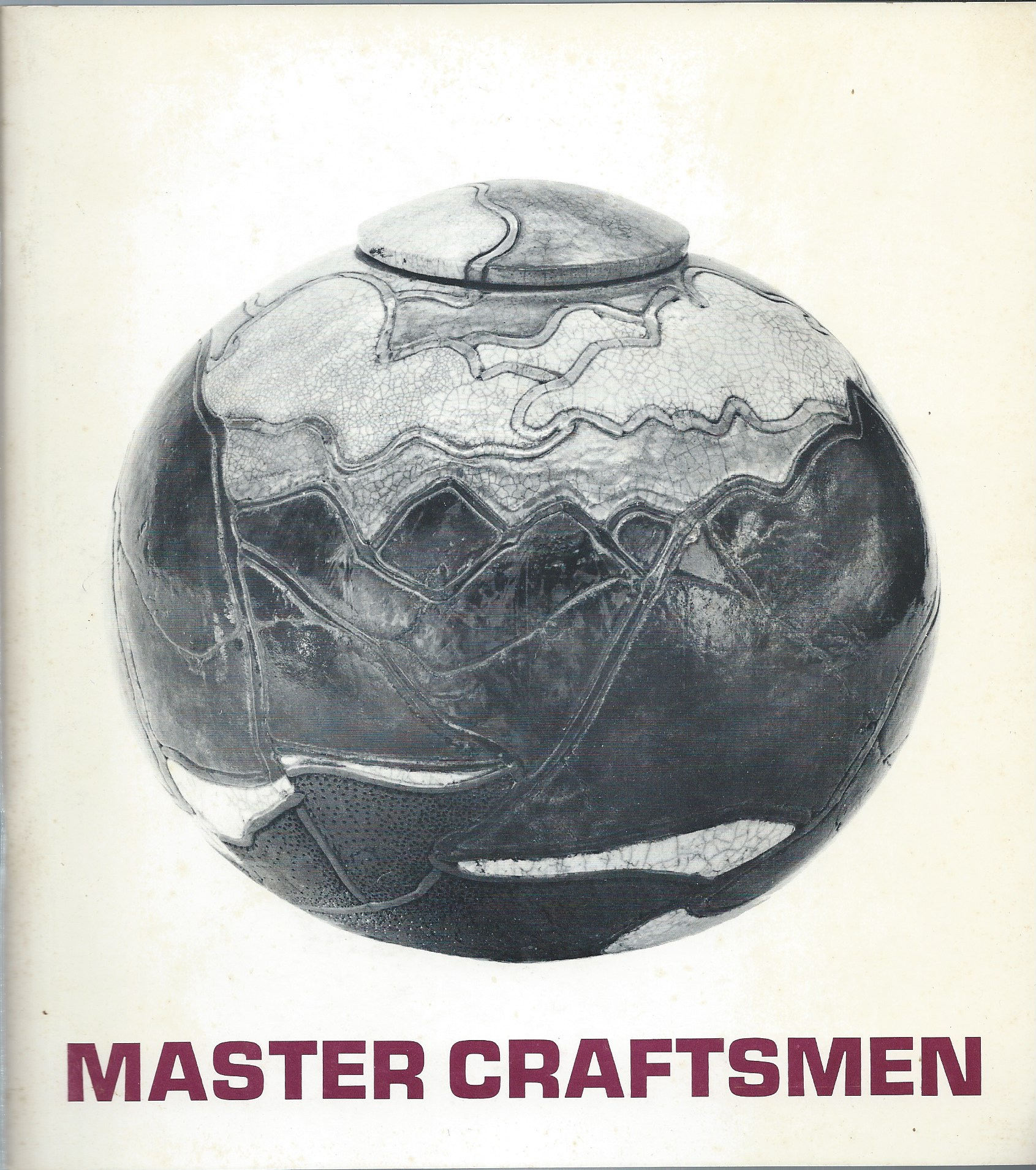 Image for An Invitational Exhibition, November 7 - 28, 1971; MASTER CRAFTSMEN