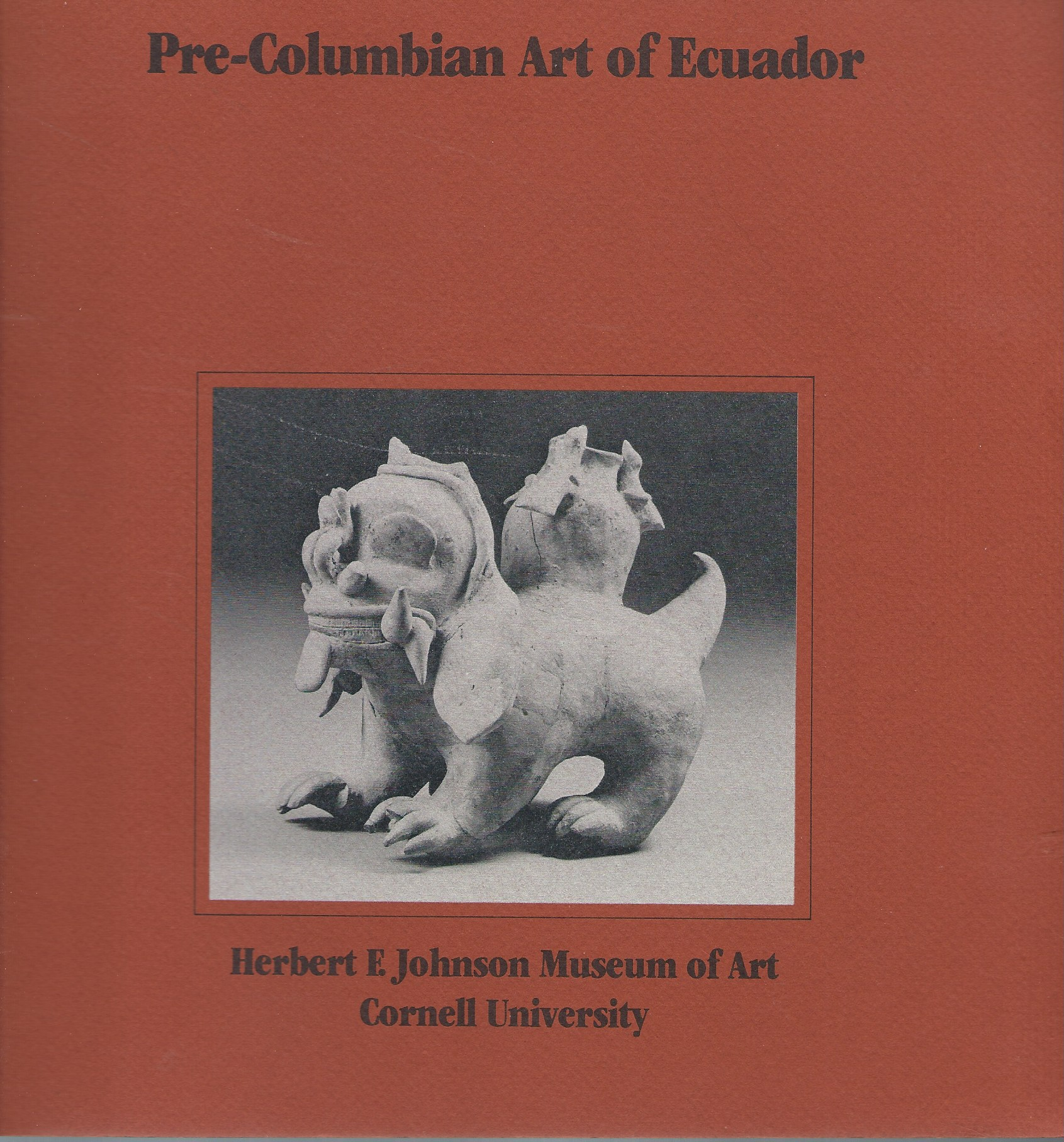 Image for From the Peggy & Tessim Zorach Collection; PRE-COLUMBIAN ART OF ECUADOR