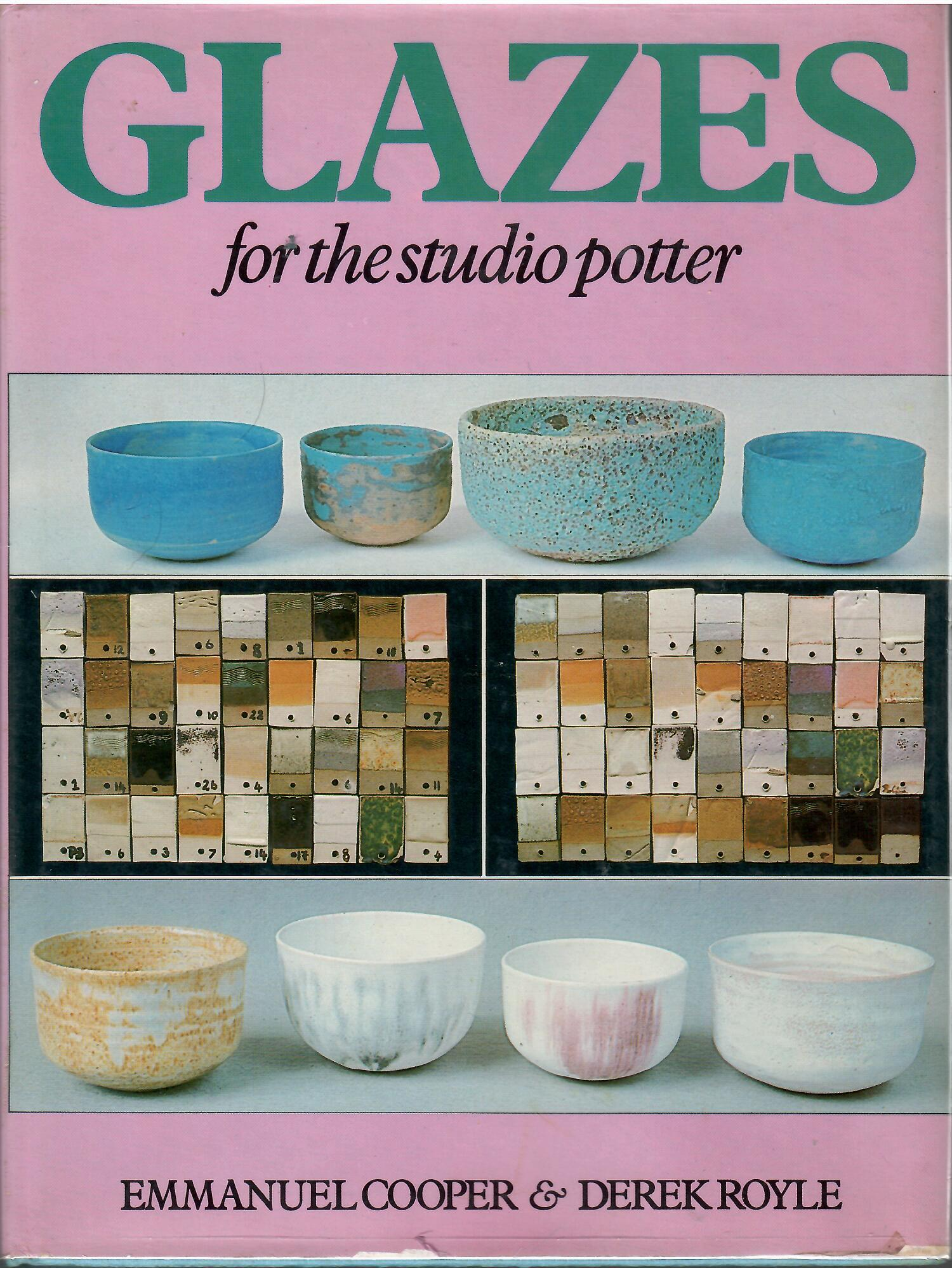 Image for GLAZES FOR THE STUDIO POTTER