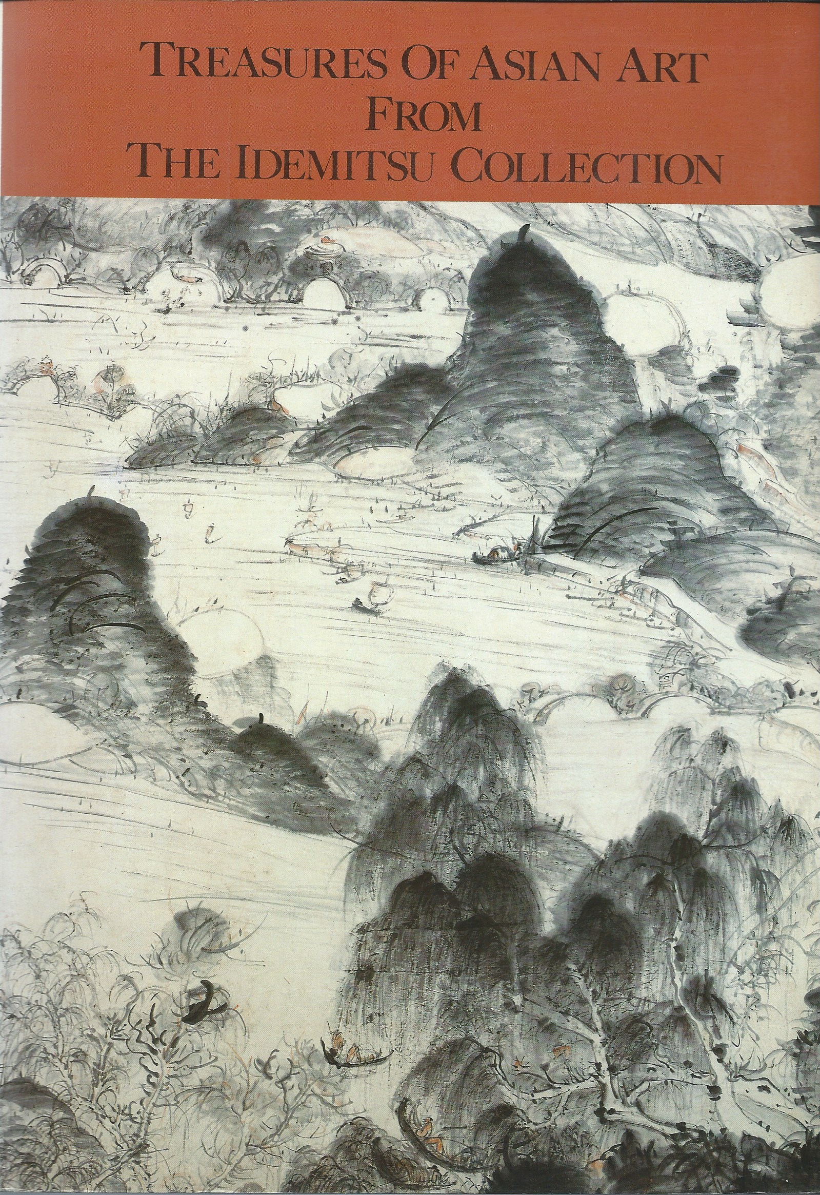 Image for TREASURES OF ASIAN ART FROM THE IDEMITSU COLLECTION