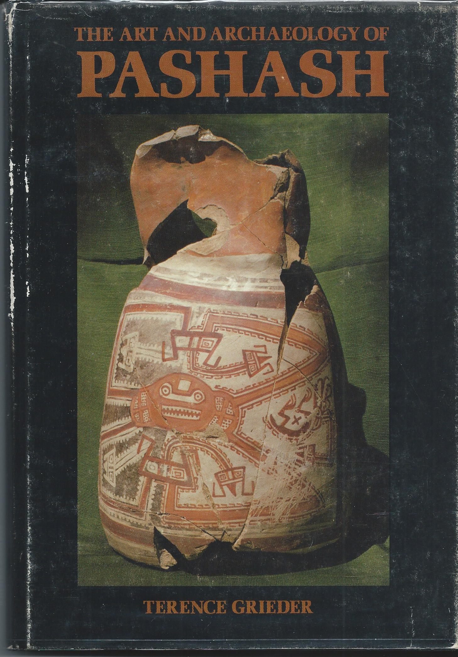 Image for THE ART AND ARCHAEOLOGY OF PASHASH
