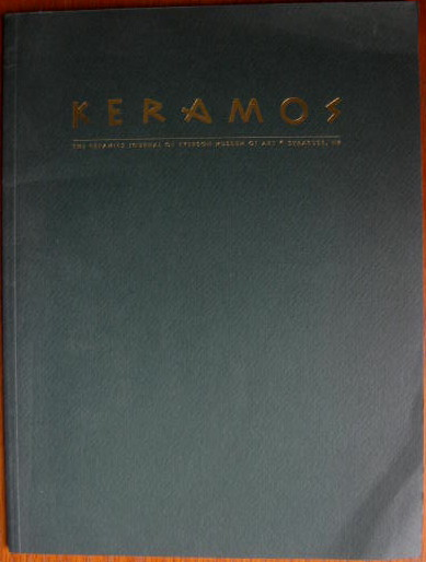 Image for The Ceramics Journal of Everson Museum of Art; KERAMOS (VOLUME 1, NUMBER 1, 1992)