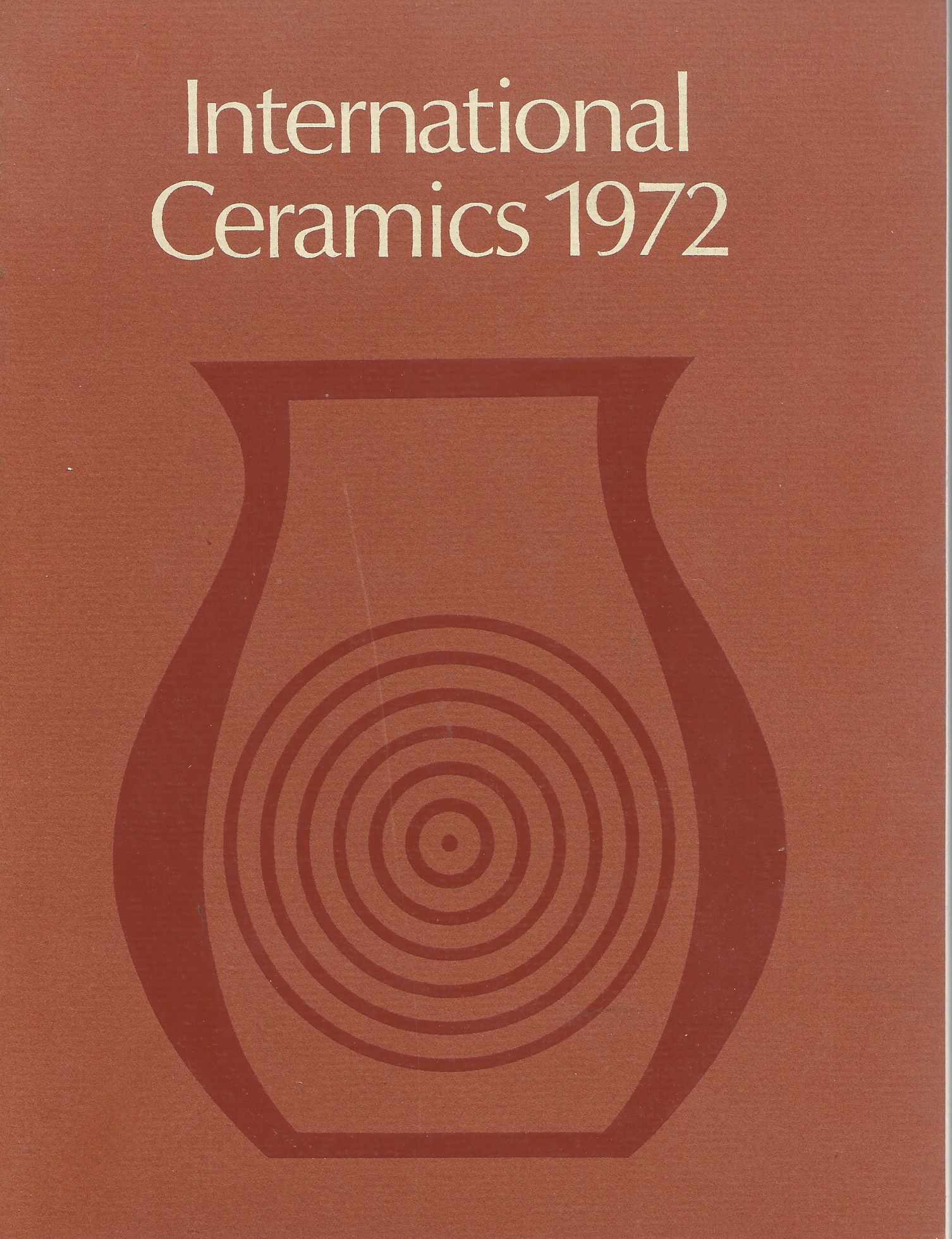Image for INTERNATIONAL CERAMICS 1972