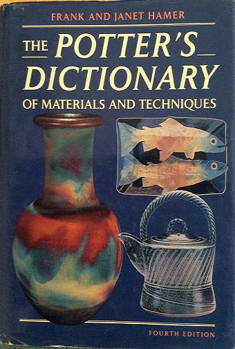 Image for POTTER'S DICTIONARY OF MATERIAL & TECHNIQUES