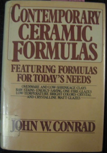 Image for CONTEMPORARY CERAMIC FORMULAS