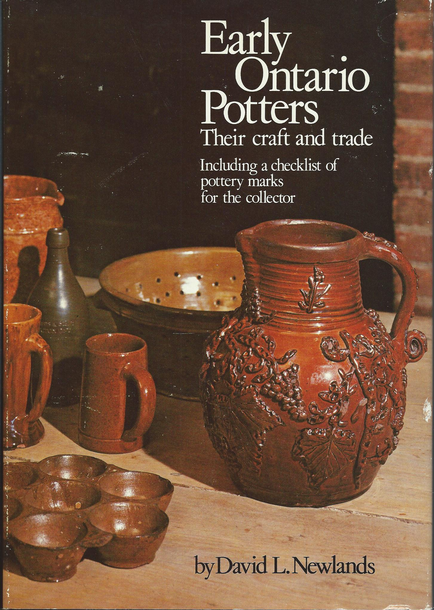 Image for Their Craft and Trade - Including a Checklist of Pottery Marks for the Collector; EARLY ONTARIO POTTERS