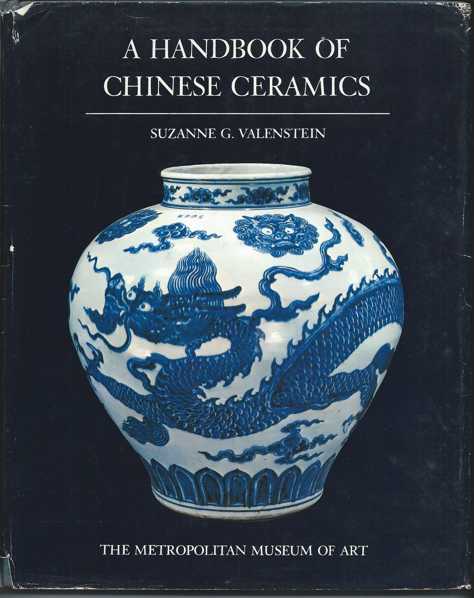 Image for A HANDBOOK OF CHINESE CERAMICS