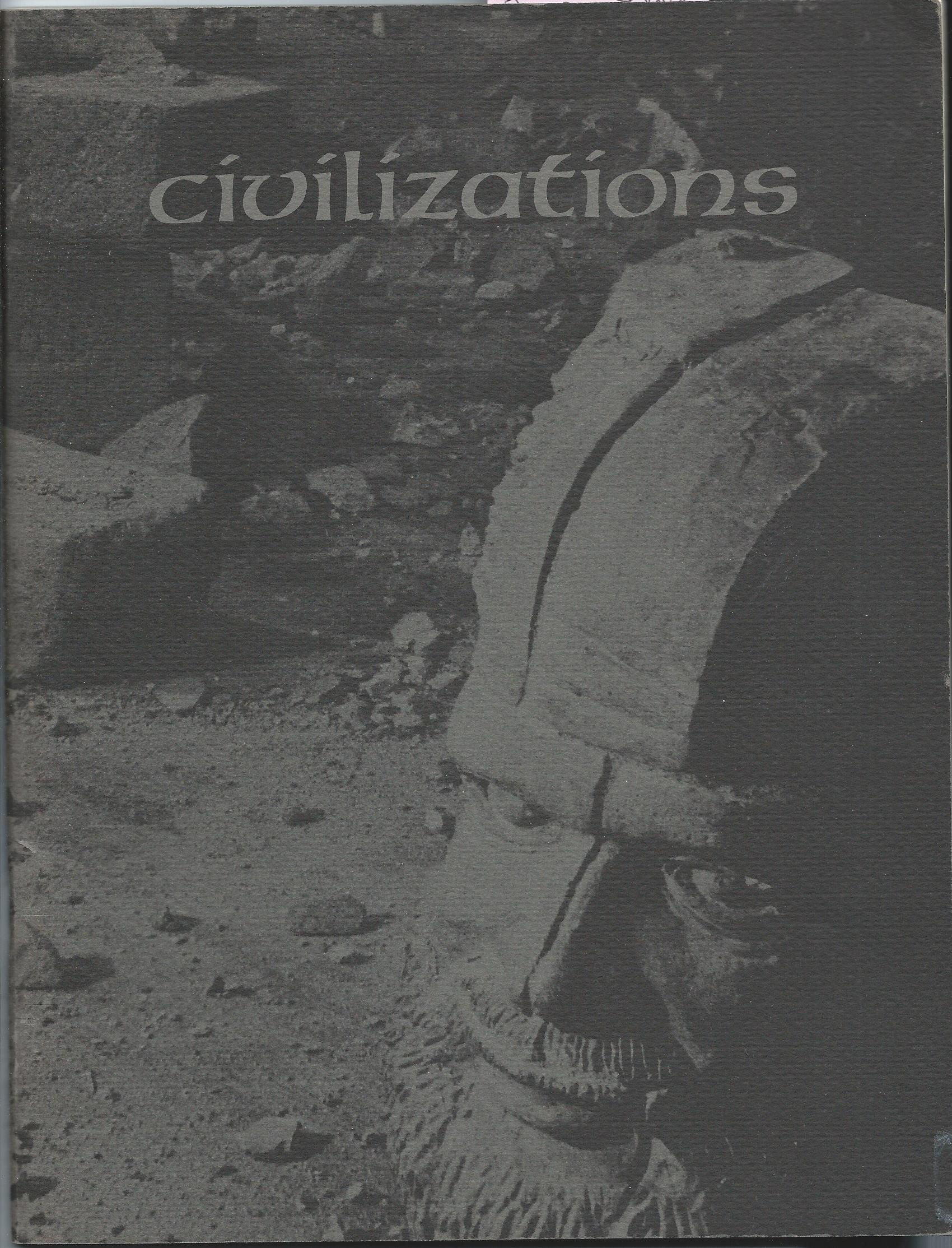 Image for September 11 - October 23, 1977; CIVILIZATIONS
