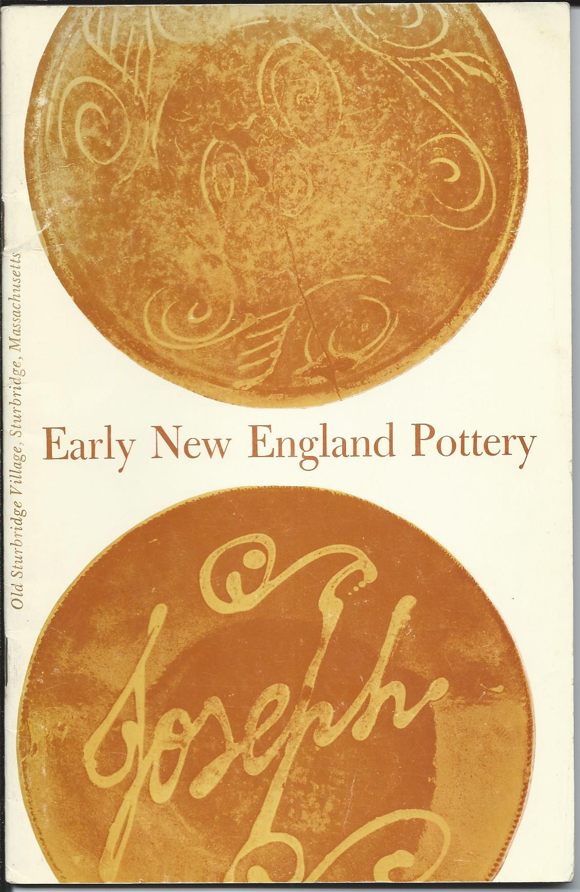 Image for EARLY NEW ENGLAND POTTERY