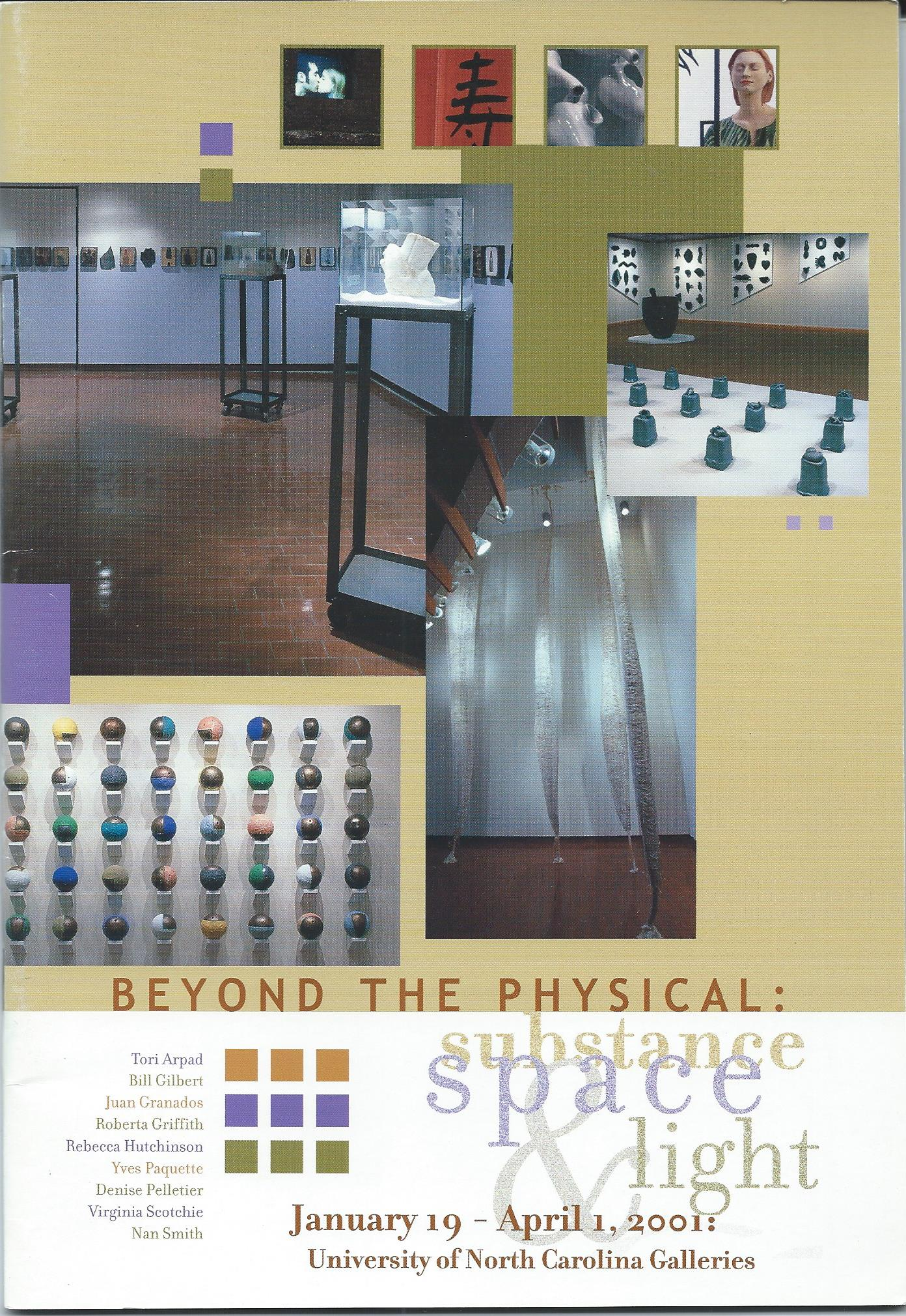 Image for Substance, Space & Light; BEYOND THE PHYSICAL: