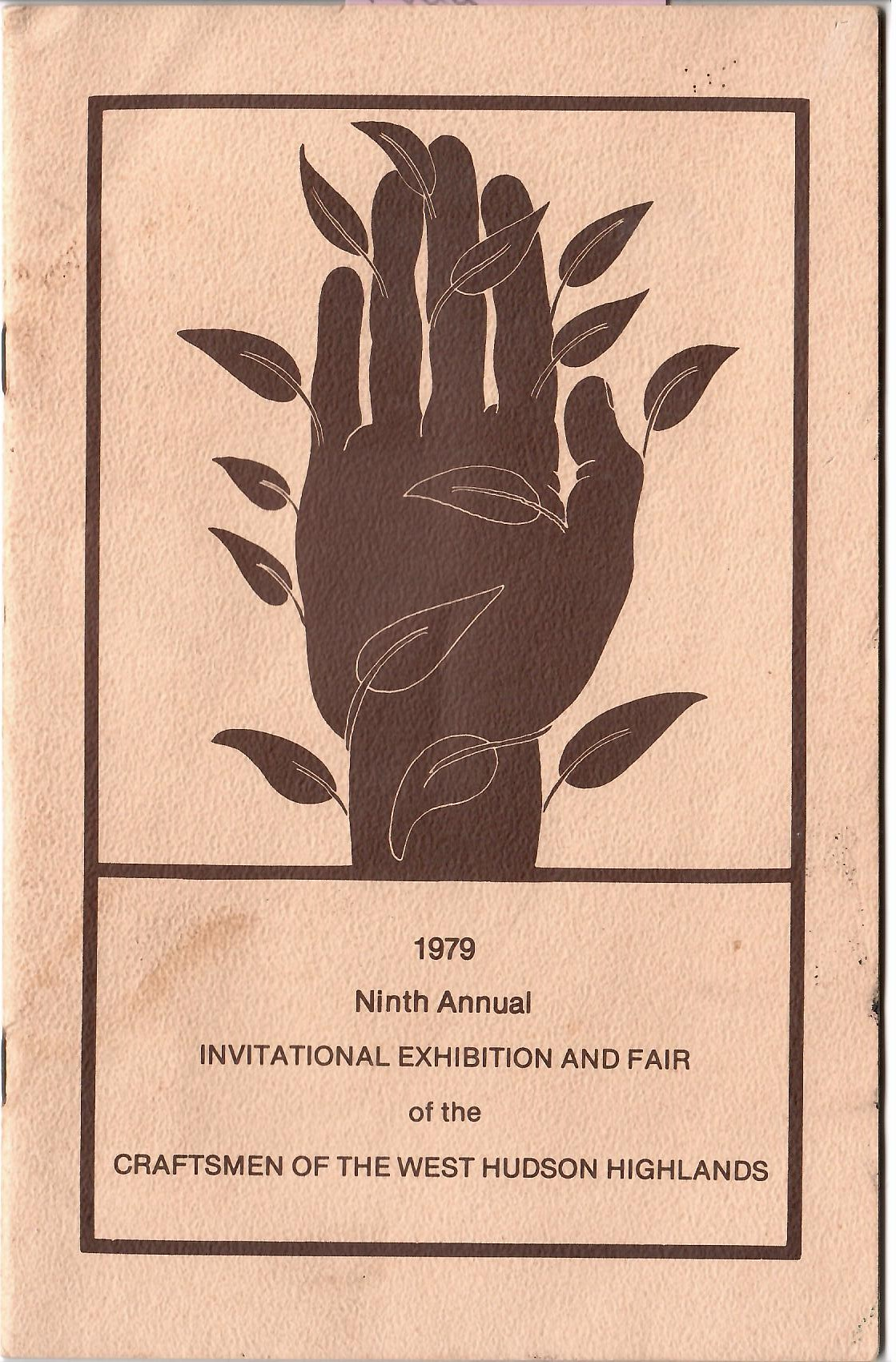 Image for 1979 NINTH ANNUAL INVITATIONAL EXHIBITION AND FAIR OF THE CRAFTSMEN OF THE WEST HUDSON HIGHLANDS
