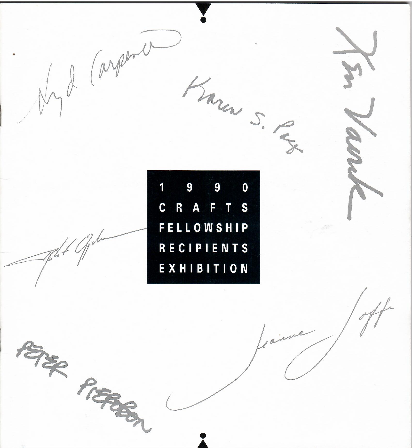Image for 1990 CRAFTS FELLOWSHIP RECIPIENTS EXHIBITION