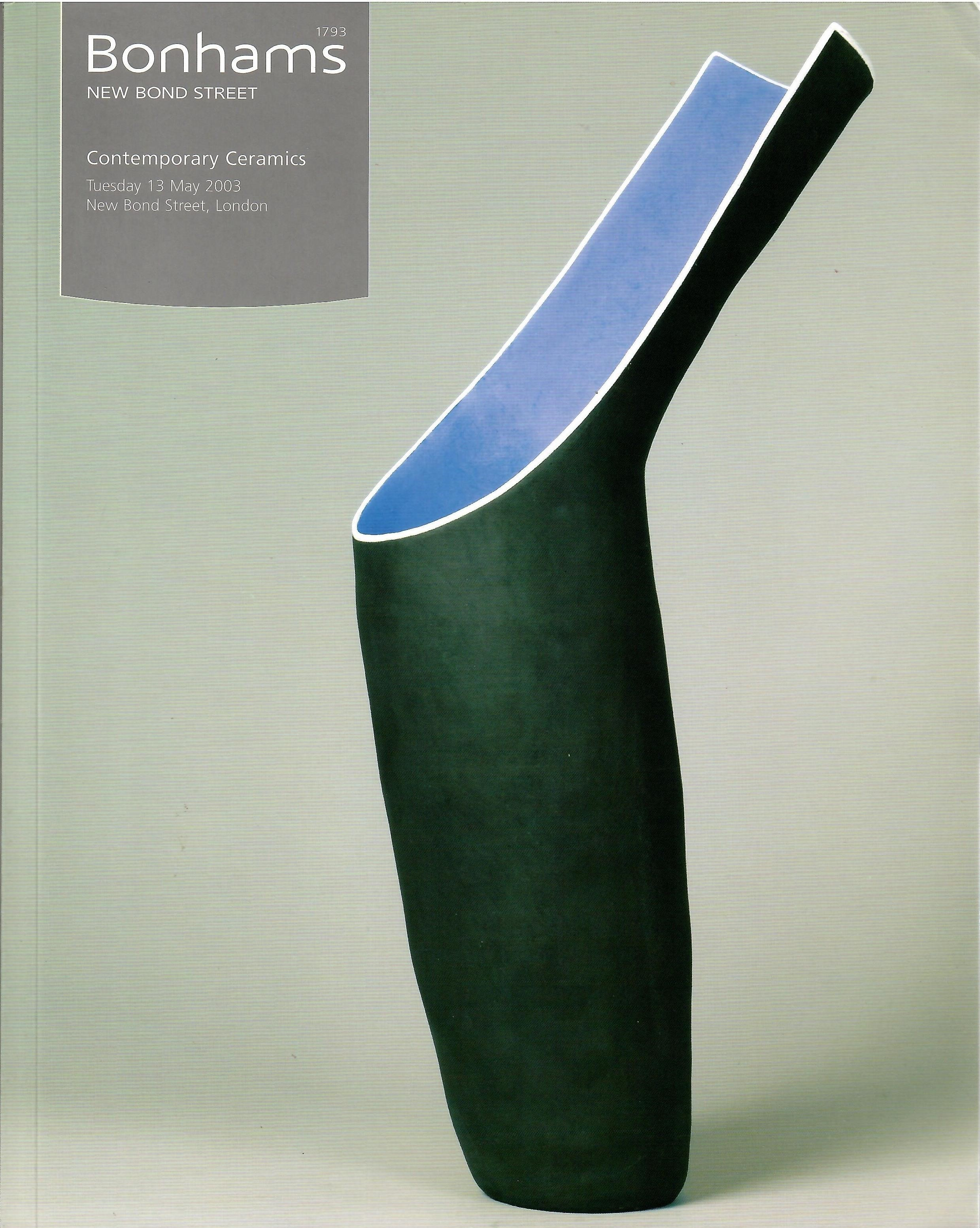 Image for Tuesday, May 13, 2003; CONTEMPORARY CERAMICS