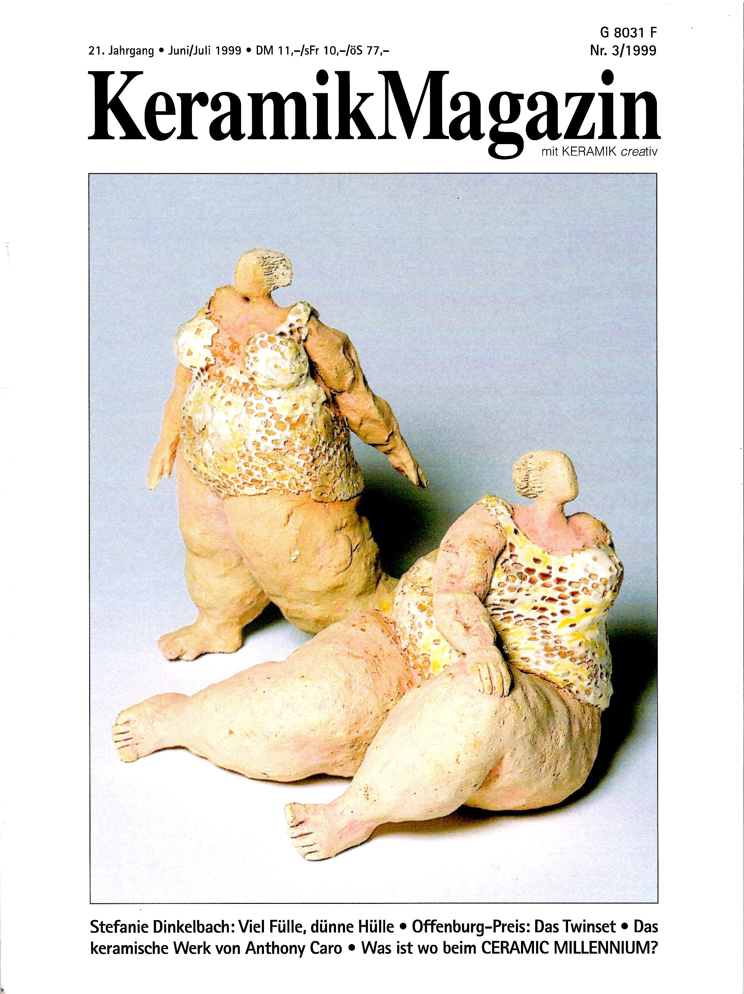 Image for Nr. 3, 1999; KERAMIK MAGAZIN