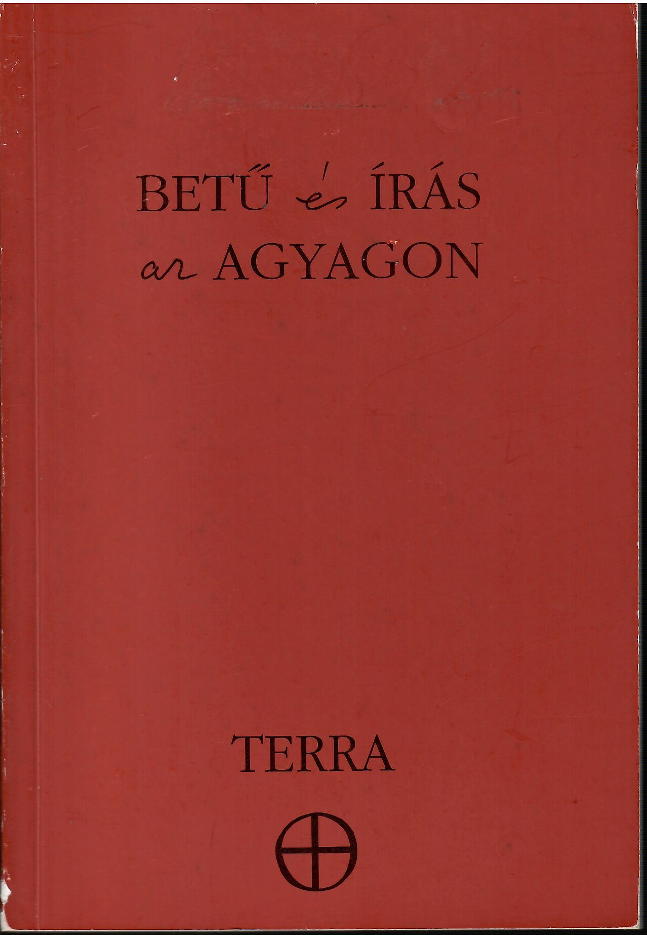 Image for Betu Es Iras Ar Agyagon; LETTER & WORD IN CLAY