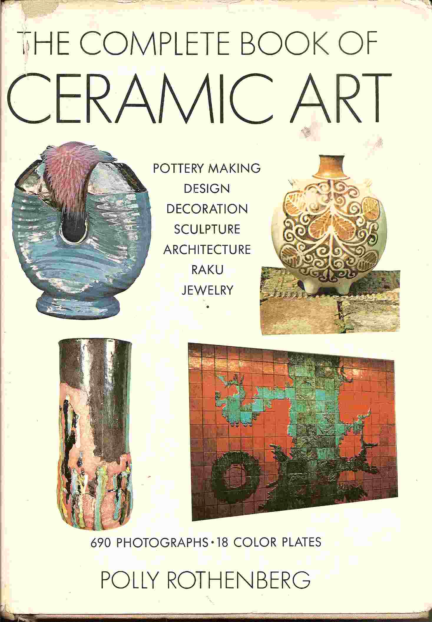 Image for COMPLETE BOOK OF CERAMIC ART